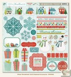 My Minds Eye - Winter Wonderland - 12x12 Chipboard Accessories