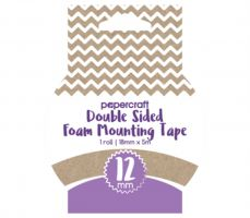 Papercraft Double Sided Foam Tape 12mm x 4m