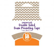 Papercraft Double Sided Foam Tape 18mm x 4m