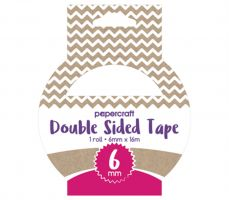 Papercraft Double Sided Tape 6mm x 16m
