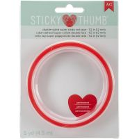Sticky Thumb - Double-Sided Super Sticky Red Tape