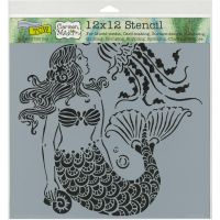 The Crafters Workshop - 12 x 12 Template - Mermaid Dreams