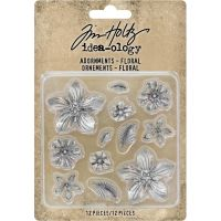 Tim Holtz - Idea-Ology - Metal Adornments 12/Pkg