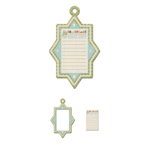 We R Memory Keepers - North Pole Collection - Frames - Wish List