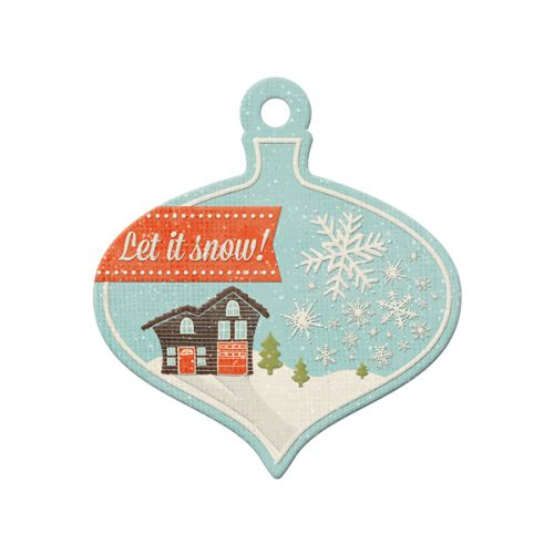 We R Memory Keepers - North Pole Collection - Tags - Let it Snow