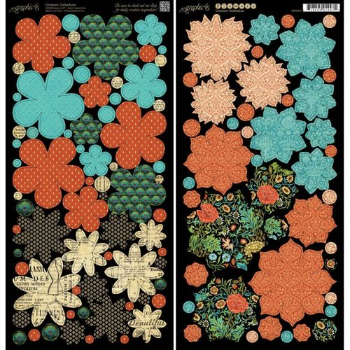 Graphic 45 - Couture - Flowers