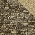 "Graphic 45 - Cityscapes Collection - Double-Sided Cardstock 12""X12"" - Crossroads"