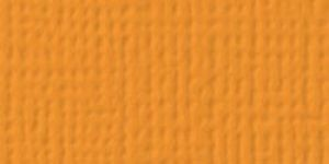 American Crafts - Cardstock - Linen Weave - Melon