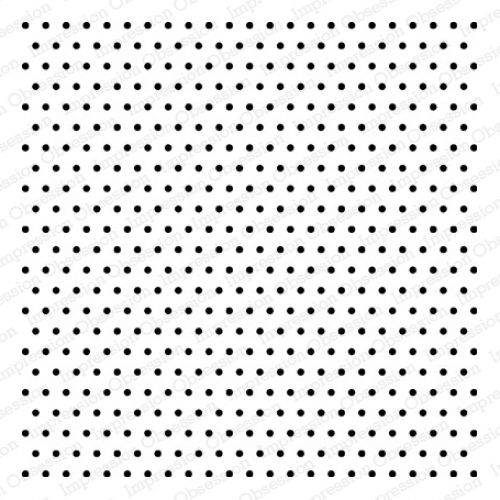 Impression Obsession - Cover-A-Card - Cling Mount Rubber Stamp - Dots