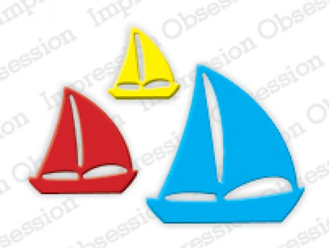 Impression Obsession - Die - Sailboats
