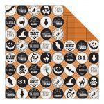 "Teresa Collins Designs - Masquerade Party Double-Sided Cardstock 12""X12"" - Halloween Icons"
