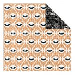 "Teresa Collins Designs - Masquerade Party Double-Sided Cardstock 12""X12"" - Halloween Bats"