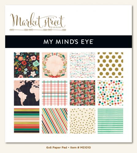 My Mind's Eye - Market Street - Ashbury Heights - 6x6 Paper Pad