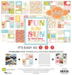 Echo Park Paper Company - Photo Freedom - Fun in the Sun - 12 x 12 Collection Kit