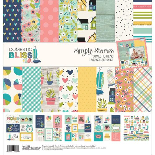 "Simple Stories - Domestic Bliss - Collection Kit 12""X12"""