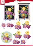 "Sullivans - 3D Die-Cut Decoupage Sheet 8.3""X11.69"" - Flowers Roses"
