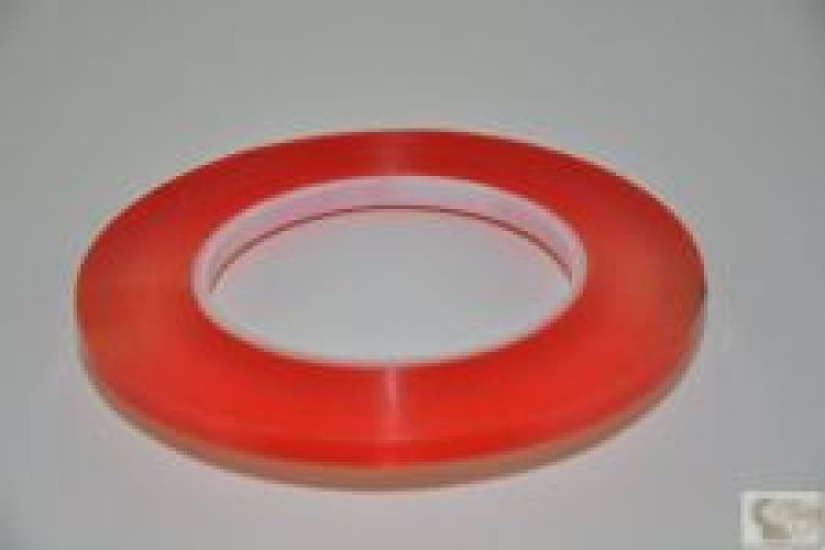 Super Strong Red Double Sided Tape - 6mm x 32mt