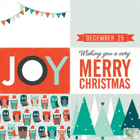Echo Park Paper Co. -  Photo Freedom -  Dear Santa - Joy