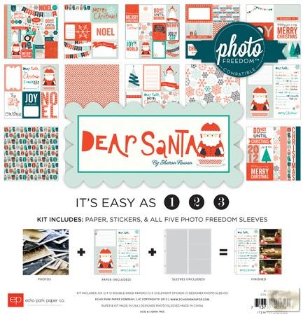 Echo Park Paper Co. -  Photo Freedom -  Dear Santa - Collection Kit
