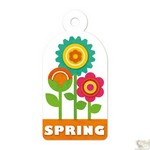 We R Memory Keepers - Embossed Tags Spring
