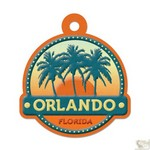 We R Memory Keepers - Destination Die Cut Embossed. Tags - Orlando