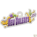 We R Memory Keepers - Destination Die Cut Embossed. Tags - New Orleans
