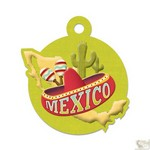 We R Memory Keepers - Destination Die Cut Embossed. Tags - Mexico