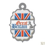 We R Memory Keepers - Destination Die Cut Embossed. Tags - Grt Britain