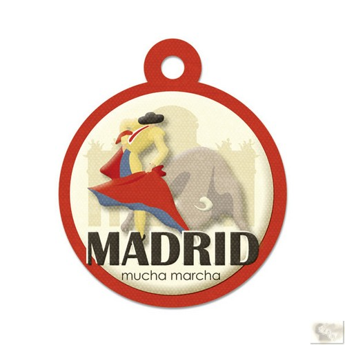 We R Memory Keepers - Destination Die Cut Embossed. Tags - Madrid